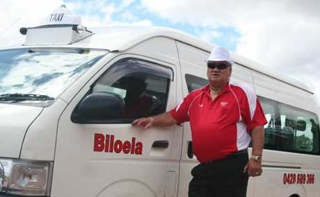 SAFER TAXI'S: Biloela Taxi manager 'Goldie' Goldsmith is looking forward to the new taxi rank on Kariboe Street.