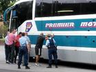 'Pistol' pulled on passengers