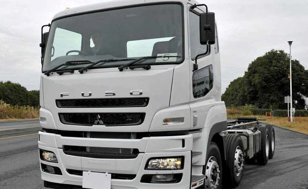 The Fuso's Heavy Duty product sees the sharing of the Mercedes OM457 12-litre six cylinder inline engine and combined with the Fuso Inomat II 12-speed automated gearbox.