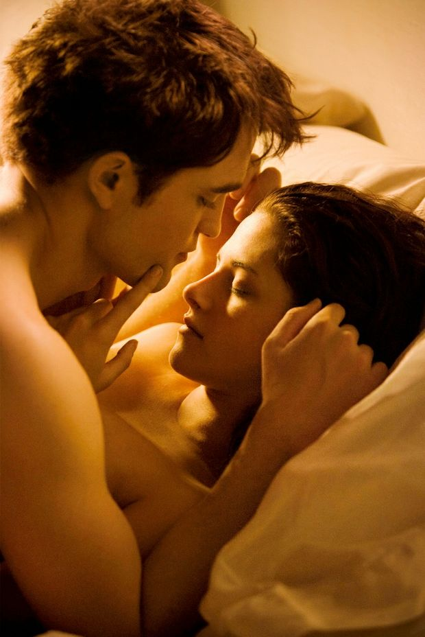 Kristen Stewart in a scene from the movie The Twilight Saga: Breaking Dawn Part 1. She will be in the upcoming movie On the Road, with Garrett Hedlund, Viggo Mortensen, Sam Riley, Amy Adams, Steve Buscemi, and Kirsten Dunst.