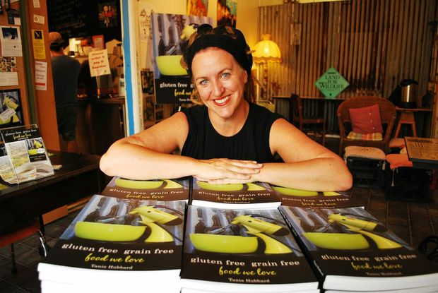 Tania Hubbard at her Husk and Honey Cafe where there were more than 100 people for the launch of her brand new book Gluten Free Grain Free Food We Love.