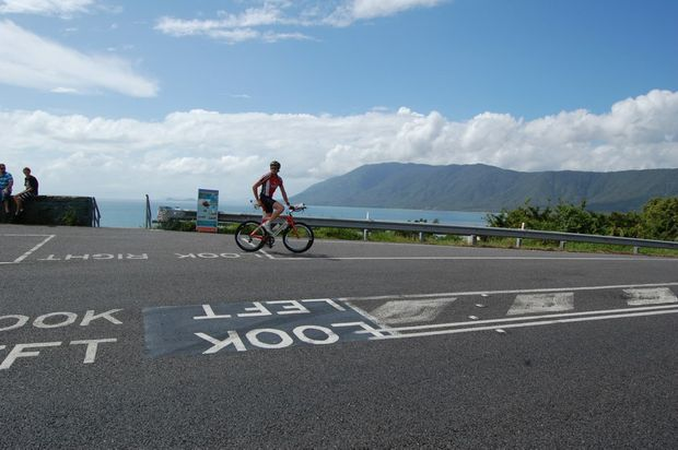 Riders will enjoy a breathtaking view during the Cairns Ironman.
