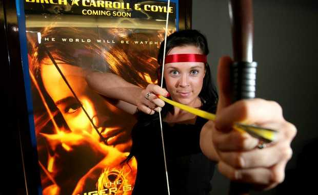 Event and Birch Carroll and Coyle Gold Coast marketing coordinator Natalie Boyd is looking forward to new movie hit The Hunger Games, which opens today.