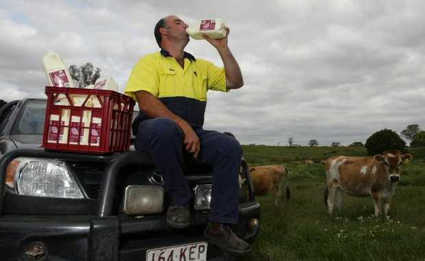 Graham MacInyre's pioneering company Lynward Queensland Milk has already become a house-hold name, with production skyrocketing from 1000 litres to 10,000 a week.