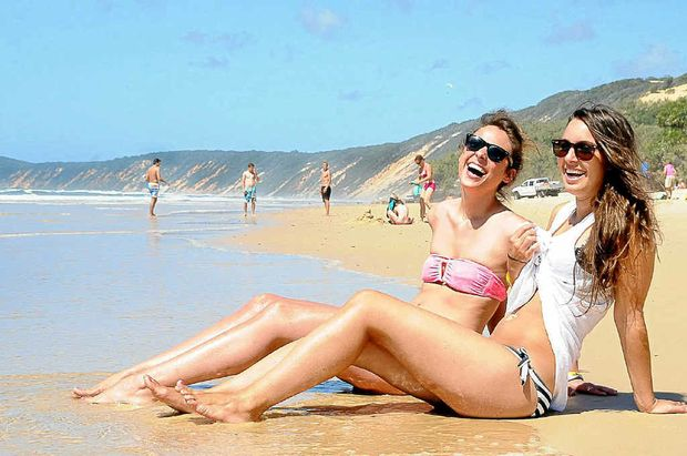 The new backpackers' gateway to Fraser Island.
