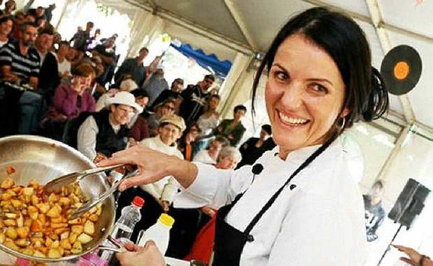 FRESH IS BEST: Chef Dominique Rizzo will be cooking up a storm at the Hampton Food and Art Festival.
