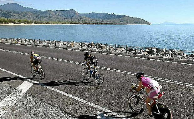 PICTURESQUE: Riders in the Cairns Ironman and Half Ironman will enjoy magnificent views from the saddle.