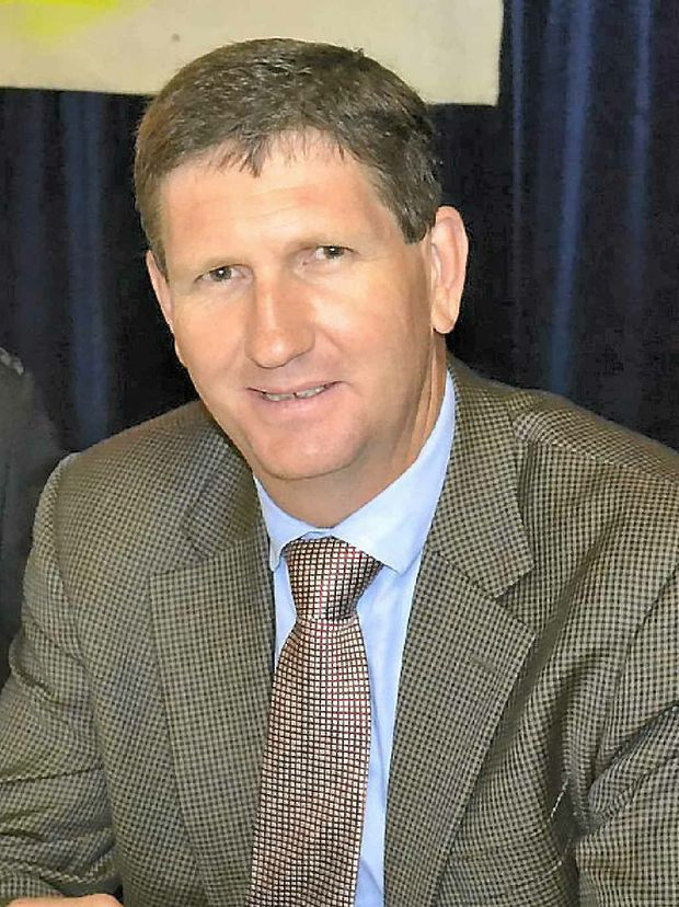 Member for Southern Downs Lawrence Springborg.