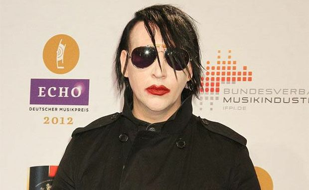 Marilyn Manson at the Echo Awards.