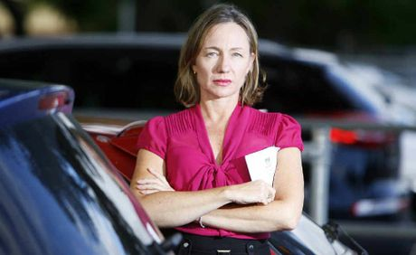 Donna Black has been issued with three parking fines near Goodna Railway Station because there is not enough room for daily commuters in the undersized car park.