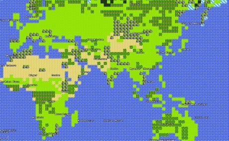 Users can click a new option that allows them to view the world in the 8-bit style reminiscent of older Nintendo Role-Playing Games like The Legends of Zelda, Pokemon, and Square Enix's Final Fantasy.