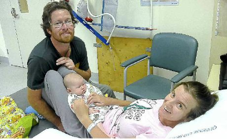Amanda LePeilbet and her husband Ered Fox and baby Cloe could be home by Mother's Day.