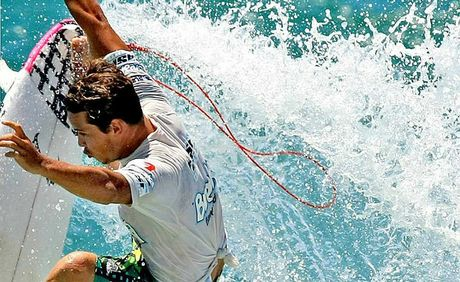 Coolum surfer Julian Wilson's out to improve his ranking at Bells Beach this week.