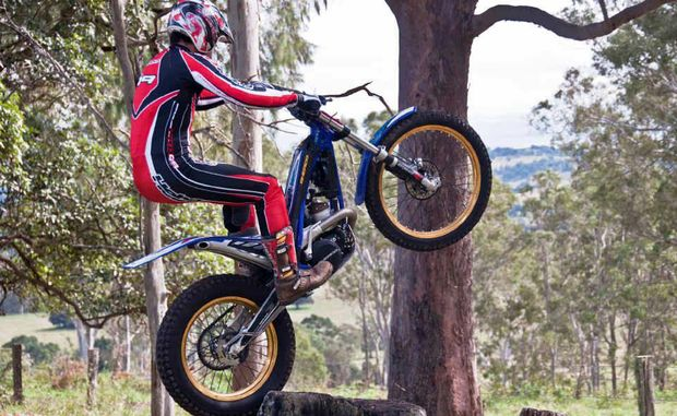 This weekend's moto trials in Gladstone will show off some top competitors.