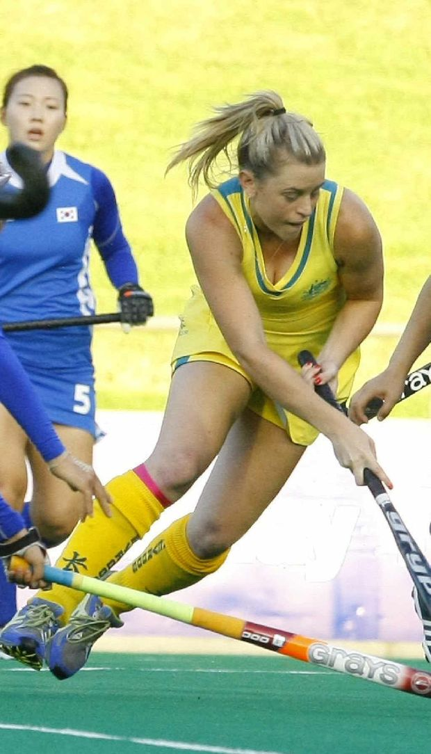 Queensland's Jordyn Holzberger says the Hockeyroos have been working hard to recapture the glory days.