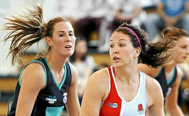 Verity Simmons during the ANL in 2011. Simmons had a massive game for the West Coast Fever in their win on the weekend.