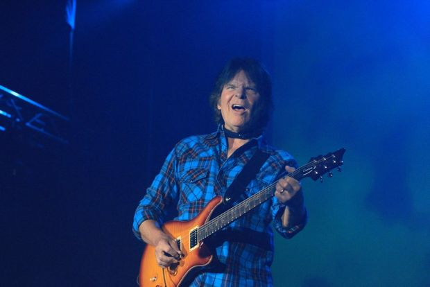 The legendary John Fogerty headlined Bluesfest on Saturday and Monday nights.