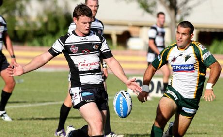 Tweed Heads Seagulls player Brad Davis was in fine form during the team's match against the Jets on Sunday.