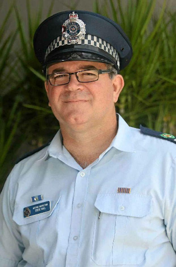 Central region traffic co-ordinator Acting Inspector Steve Hall.
