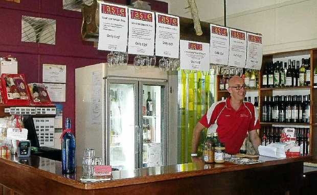 ON DUTY: Shannon Scott fell in love with South Burnett and its wonderful range of foods and wines.