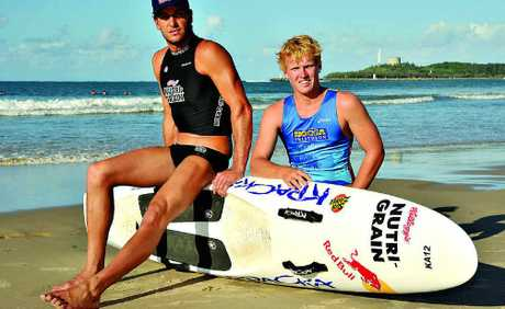 Ironman Matt Poole is supporting the Stand up for Epilepsy project along with Aaron Taylor, 18, who has the condition.