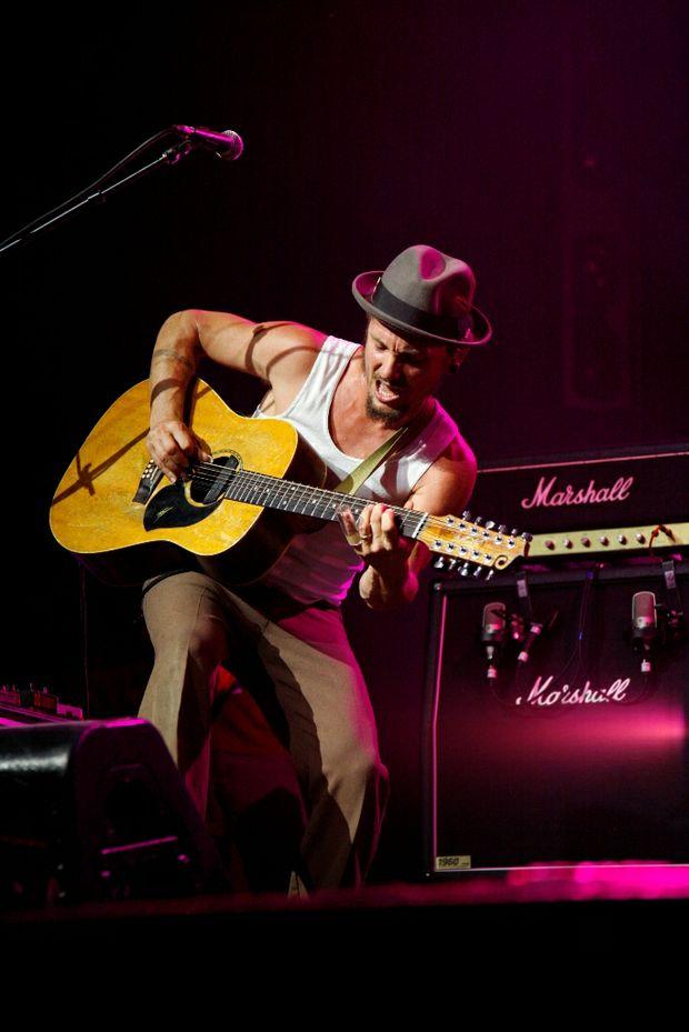 John Butler performing at Bluesfest 2010.