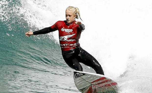 Suffolk Park surfer Kirstin Ogden won last year.