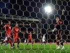 Liverpool's Brad Jones foils Blackburn's Yakubu.