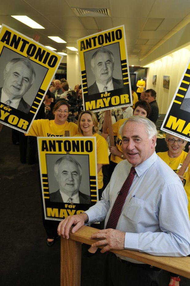 Mayoral candidate Paul Antonio.