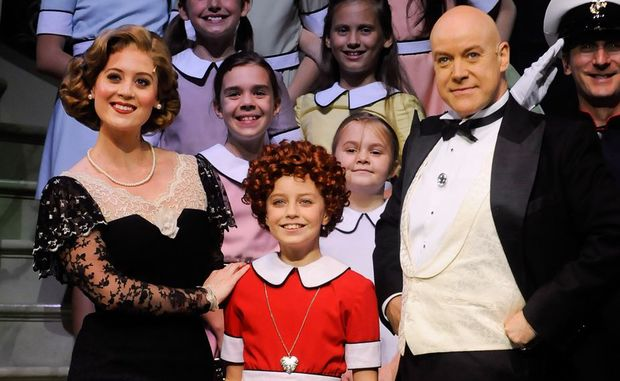 The Australian production of Annie comes to Brisbane.
