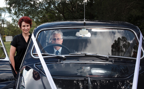 PROUD PAIR: Cathy and Paul Erskine from Tic Tac Tours and Premier Limousines have been awarded a national achievement award in the bridal industry.