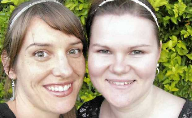 TOP PRIZE: Danielle Beretta and Amanda Webb from Livefit Studio & Spa.