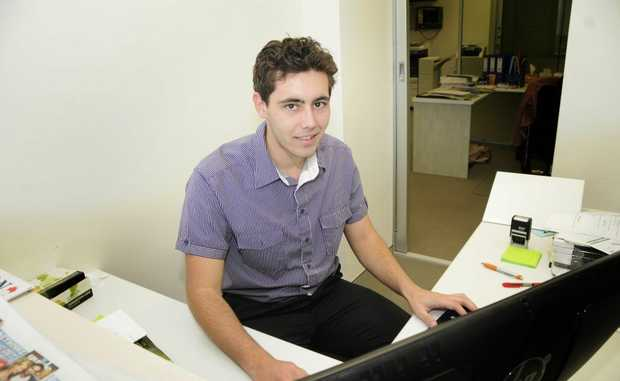 My Career: Jordan Williams - Administration Assistant at Toowoomba Regional Enterprise. Photo: Bev Lacey / The Chronicle