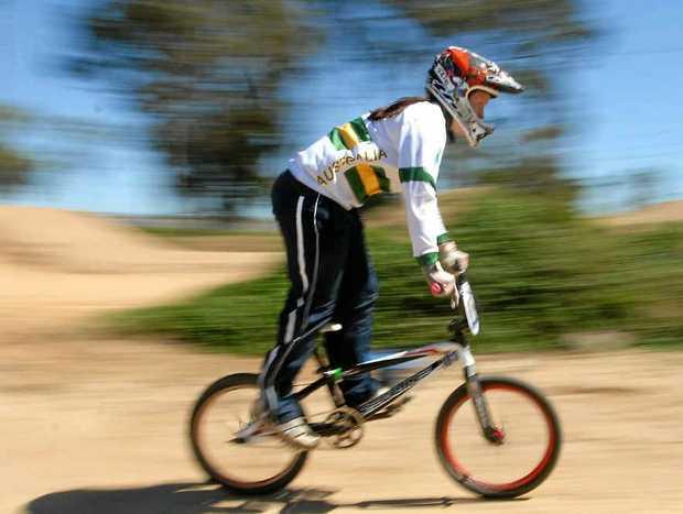 BMX rider Melinda McLeod.