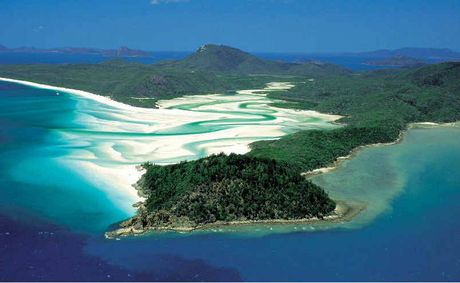 Tongue Bay, Hill Inlet and Whitehaven Beach.