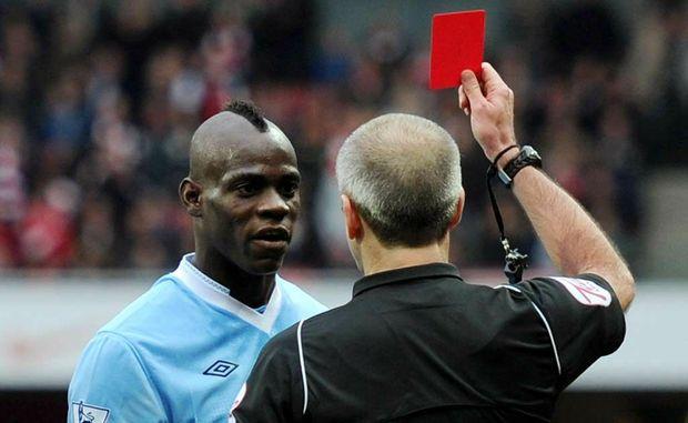 Manchester City's Mario Balotelli.