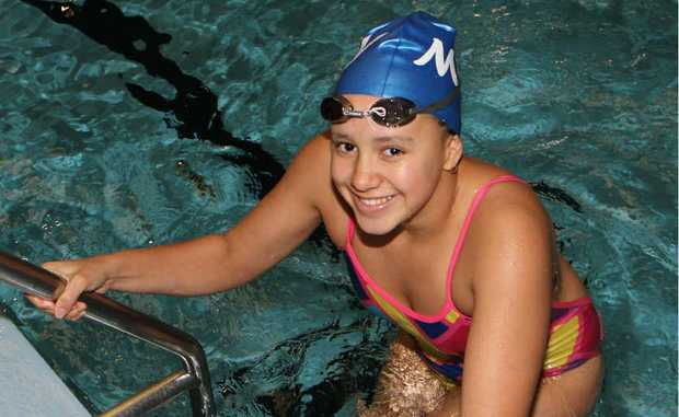 Mackay academy swimmer Kylie Duncan was keen to get back in the pool after winning bronze at the Australian Age Championships in Brisbane.