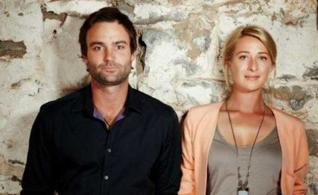 Asher Keddie and Matthew Le Nevez star in the TV series Offspring.