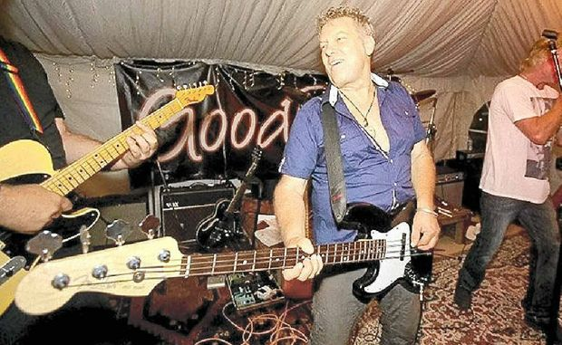 ROCK ON: The Buzz for Muzz musical fundraiser will help stroke sufferer Murray Burns.