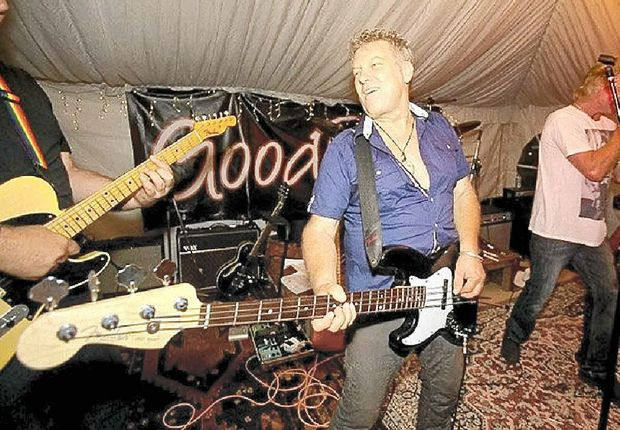 ROCK ON: The Buzz for Muzz musical fundraiser will help stroke sufferer Murray Burns.