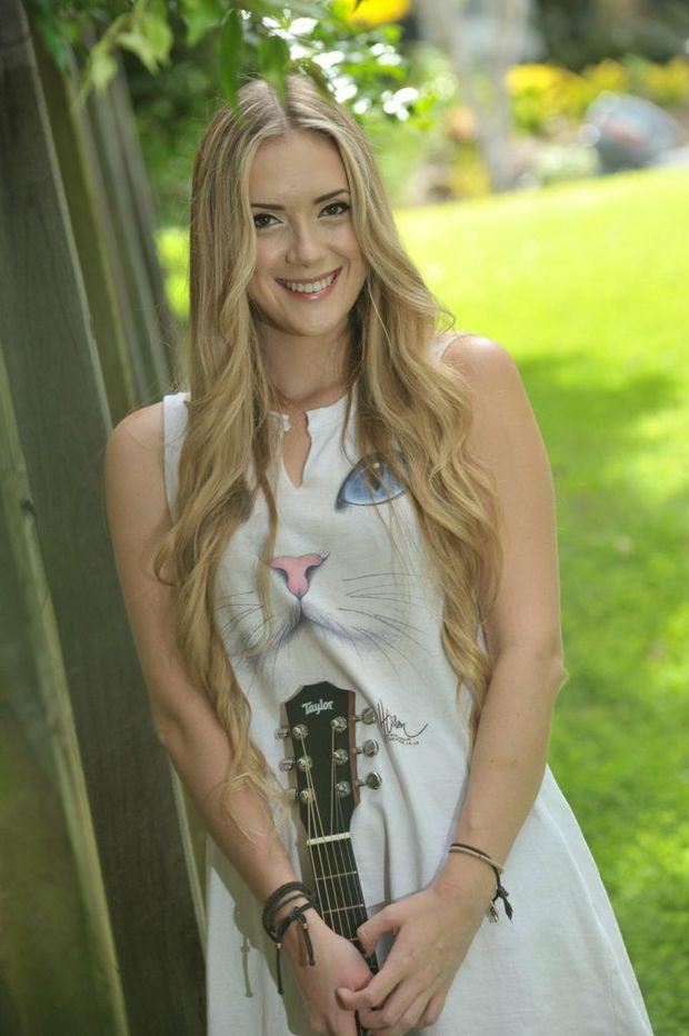 Sunshine Coast singer-songwriter Kelsie Rimmer.