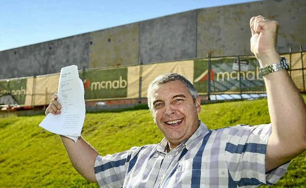 MAJOR WIN: Citilife senior pastor Jonathan Oastler celebrates the decision by the Planning and Environment Court.