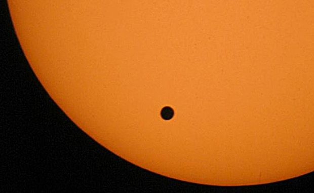 Venus will pass in front of the Sun on June 6 this year.