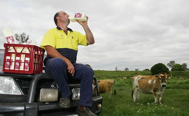 Graham MacIntyre owns Lynward Queensland Milk, and independent producer and distributor.