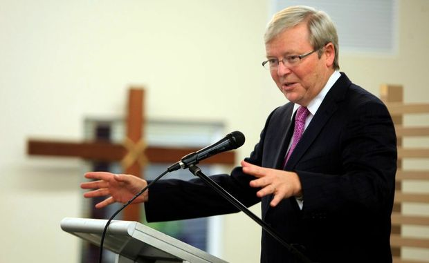 Kevin Rudd is facing a fight to keep his seat, according to a new Galaxy poll.