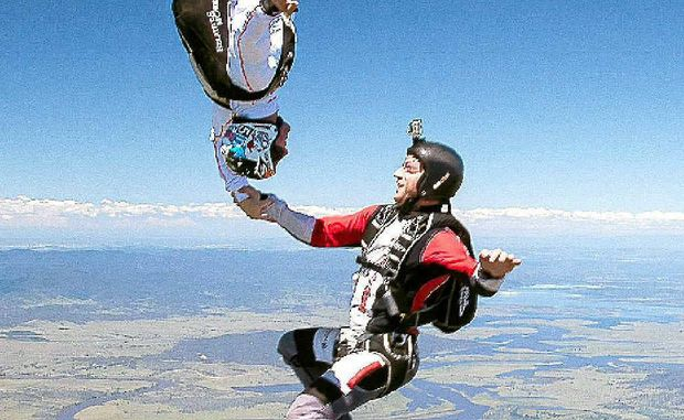 The action was impressive at this year's National Skydiving and Parachuting Championships.