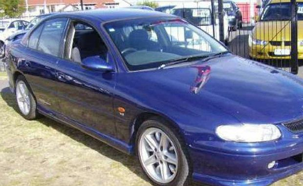 GET AWAY: Police need help to locate a blue Holden Commodore,