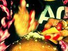 Rihanna's controversial powder pic