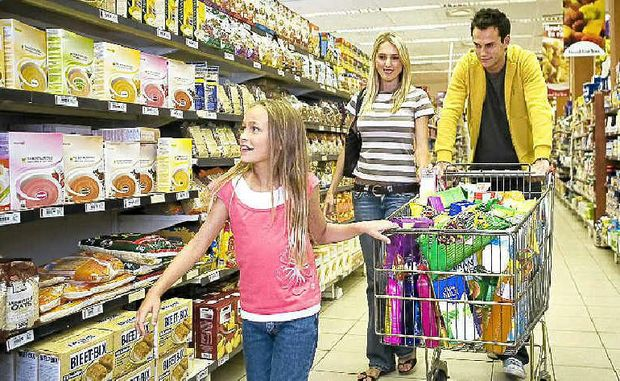 WEEKLY CHORE: You might be surprised about what a study of grocery spending reveals.