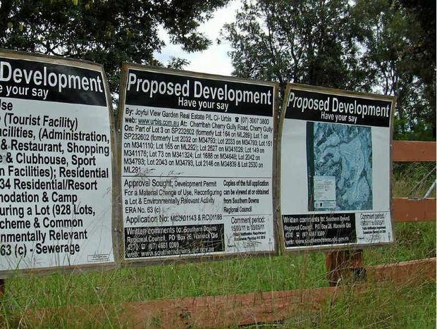 Mini-city plan for Cherrabah Resort.